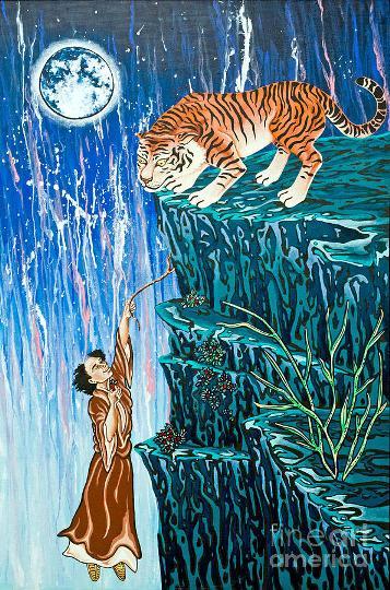 tigre morango